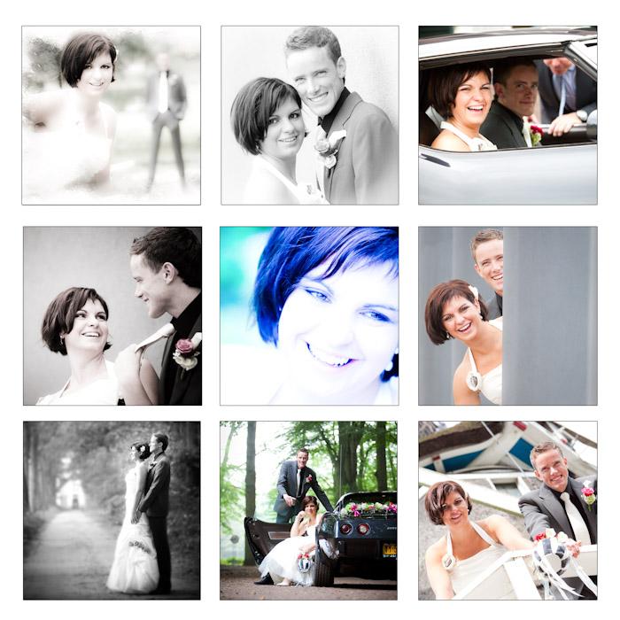 Foto's van het huwelijk van Hanneke en Hermen, gemaakt door HE Fotografie